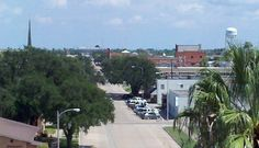 Kingsville, TX, where my son was born. We lived in apartments just next door to the college campus. Best place I ate.... Young's Pizza just down the road. Sure miss the 'patooties'!!