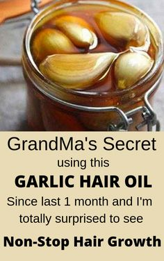 ginger garlic hair oil for fast hair growth . Homemade ginger garlic hair oil for fast hair growth .Homemade ginger garlic hair oil for fast hair growth . Hair Growth Tips, Natural Hair Growth, Natural Hair Styles, Long Hair Styles, Natural Beauty, Diy Hair Growth Oil, Hair Remedies For Growth, Garlic For Hair Growth, Healthy Hair Remedies