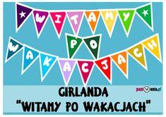 Archiwa: Do pobrania - Pani Monia Classroom Board, Arctic Monkeys, Diy And Crafts, Preschool, September, Calm, Education, Children, Artwork