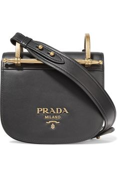 e36a909eaee7 Black leather (Calf) Snap-fastening front flap Weighs approximately 1.5lbs   0.7