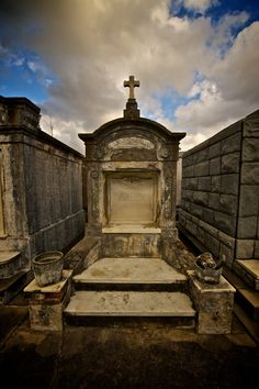 St. Louis Cemetery No. 1, New Orleans - Going during the day and be quick about it. Not the best place to be after dark. (The living are who you should be worried about)