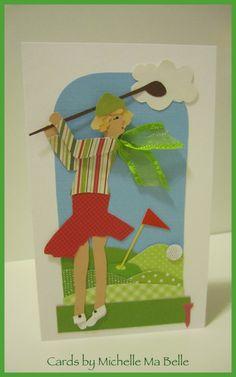 Have a Tee-rific Birthday Golf Birthday Lady