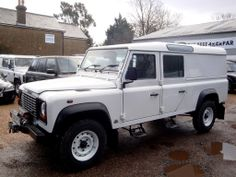 Low Mileage Defender 130 Td5 Station Wagon Utility built to order, converted in the rear to sleep 4 persons with lots of Leg room and Storage…. Now touring Scotland….