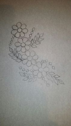 50 Ideas embroidery designs butta blouses for 2019 Embroidery Flowers Pattern, Embroidery Monogram, Paper Embroidery, Embroidery Hoop Art, Hand Embroidery Designs, Beaded Embroidery, Embroidery Stitches, Sewing Art, Embroidery Techniques