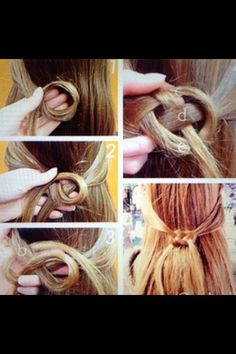 Really cool hair style :) Must do!