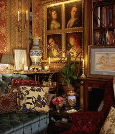 Fifth Avenue Style: Howard Slatkin - Joelle Magazine Beautiful Space, Beautiful Homes, Old World Style, Romantic Homes, Romantic Bedrooms, Classic Interior, Beautiful Interiors, French Interiors, Interior Design Inspiration