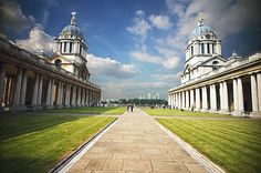 Old Royal Naval College and St Paul's Cathedral pictures