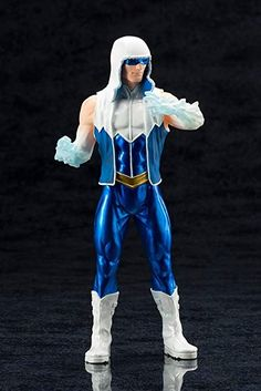 Kotobukiya ArtFX + DC Comics New 52 Captain Cold Statue - Brand New / Sealed for sale online Dc Heroes, Comic Book Heroes, Comic Books, New 52, Dc Comics Art, Toys For Boys, Boy Toys, Rogues, Comic Art