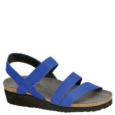 e6018f485a5cca Naot Kayla Royal Blue Leather Strappy Sandal Women s sizes NEW!