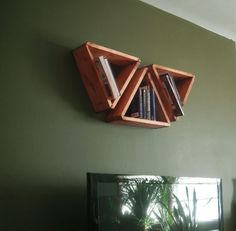 Modular Shelves. $18.00, via Etsy.  Made from salvaged wood palletes. but you could totally make these yourself