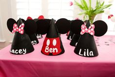 Mickey & Minnie Mouse party Birthday Party Ideas   Photo 1 of 24   Catch My Party