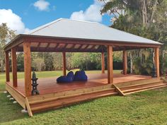 6X9 Gazebo built by Aarons Outdoor Living for a Day Retreat Centre in QLD Aus. Relaxing!   http://www.aaronsoutdoor.com.au