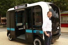 Olli 3D printing , bus imprimé en 3D   http://www.lifestyl3d.com/impression-3d-industrie-automobile-affaire-roule/