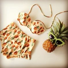 Pineapple bikini, can I please have this?