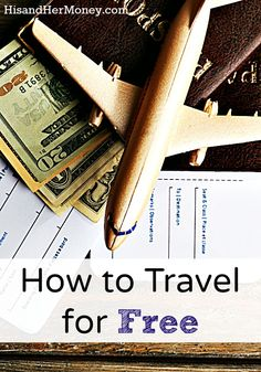 """Did you know that there are people out there who have mastered the art of traveling for free? We've recently discovered this world of """"travel hacking"""", and it definitely has our full attention. Find out how."""