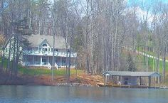 Waterford Retreat: 6 bedrooms, 1500 sq foot boathouse, media room & more!Vacation Rental in Moneta from @homeaway! #vacation #rental #travel #homeaway