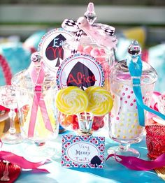 Alice in Wonderland Party DIY Ideas & Free Printables