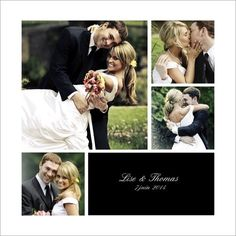 Remerciements mariage classique multiphotos Thanks Card, Travel Themes, Wedding Paper, Save The Date, Wedding Inspiration, Couple Photos, Cards, Design Graphique, Site Web