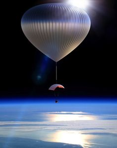 The Helium Balloon That Can Take You Into Space (Almost)