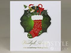 Kartki dla firm na Boże narodzenie ze złoconymi literami na okładce. Christmas Ornaments, Holiday Decor, Design, Christmas Jewelry, Christmas Baubles, Christmas Decorations
