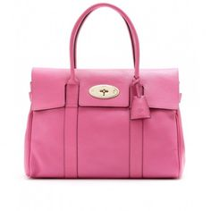 Shoulder bag Bayswater Mulberry rosa - #bags #bag