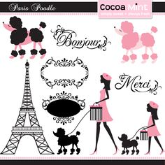 French and poodles!