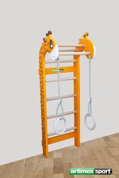 Wonder Set(Wall bars plus Wooden Rings), Product code 268