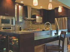 Kitchen Ideas: Design Styles and Layout Options | Kitchen Designs - Choose Kitchen Layouts & Remodeling Materials | HGTV