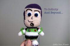 Buzz Lightyear Amigurumi - FREE Crochet Pattern and Tutorial