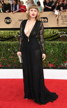Emily Althaus from 2017 SAG Awards: Red Carpet Arrivals
