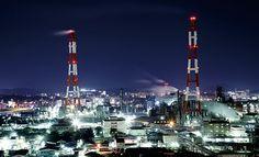 北九州工場夜景