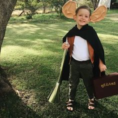 This miniature version of Roald Dahl's BFG. | 19 Parents Who Completely Nailed Book Week Costumes