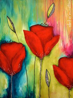 Donna Downey (wow!  Love the vibrant color)