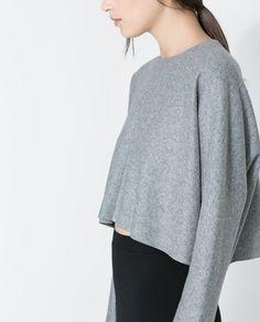 Syysmuodin suosikit: 1. Zara SHORT STUDIO TOP