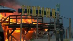 Firefighters battling massive fire Seaside Heights, NJ  Most of the Boardwalk gone, still burning hours later now but considered under control. Rough times for Seaside Heights and the Jersey Shore.  Stay Safe Firefighters - its going to be a long night.