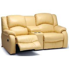 Palliser Furniture Dane Console Modular Loveseat Upholstery: Leather/PVC Match - Tulsa II Chalk, Leather Type: Leather PVC/Match, Type: Manual