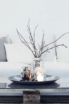 Tribus grå - Plastmatta 70x200cm