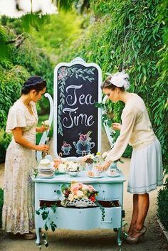 Hosting A Bride-To-Be Breakfast - hitched.co.uk Bridal Shower Tea, Tea Party Bridal Shower, Shower Party, Tea Party Desserts, Tea Party Table, Bridal Luncheon, Perfect Bride, Bridal Shower Decorations, Wedding Planning