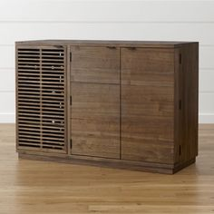 Shop Marin Shiitake Large Bar/Media Cabinet.   Stained shiitake, the wood is treated to a multi-step tung tree oil finish, a natural oil derived from the seeds of the tung tree nut, to bring out the sweeping grain and preserve the beauty of the wood.