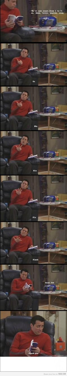 Joey is seriously so funny!
