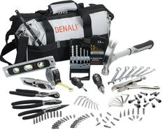 Great Father's day gift, or housewarming gift. Denail 115 pc Home Repair Tool Kit