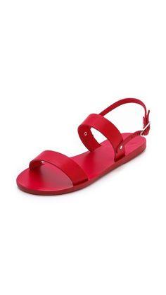 Simple greek sandals in great colors