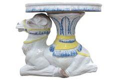 Italian Terracotta Camel Garden Seat | One Kings Lane