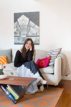 House Tour: A Personal, Modern Apartment in Cambridge | Apartment Therapy