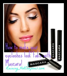 4 Easy Tips to Make your Eyelashes Look Fake, Long and Thick!