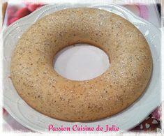 Gâteau aux blancs d'oeufs et noisettes Julie, Bagel, Doughnut, Biscuits, Bread, Vegan, Passion, Cooking, Food
