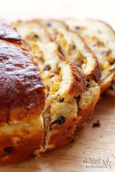 This is the Easiest Italian Panettone Bread Recipe Ever Stacey shares a simple and delicious panettone bread recipe using dried cherries and apricots. She uses honey butter and orange for extra flavor. Recipe Using Dried Cherries, Dried Cherry Bread Recipe, Apricot Bread Recipe, Panatone Bread, Italian Panettone, Italian Pastries, Panettone Cake, French Pastries, Dessert Bread