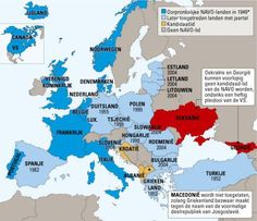 NATO countries (with year of joining alliance)
