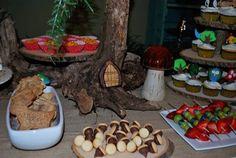 Woodland themed birthday party