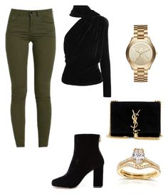 """""""Casual"""" by lizzythedizzy on Polyvore featuring Joie, Gareth Pugh, Yves Saint Laurent, Michael Kors and Annello"""